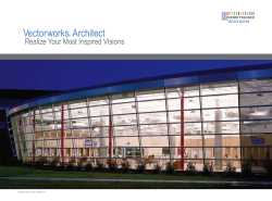 Vectorworks Architect 2010 Brochure