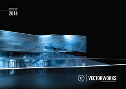 Vectorworks 2016 Whats New Brochure
